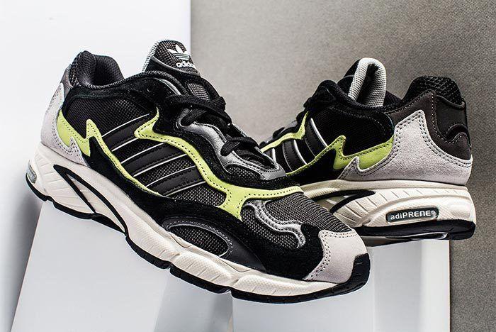 Adidas Temper Run Black Grey Neon 2