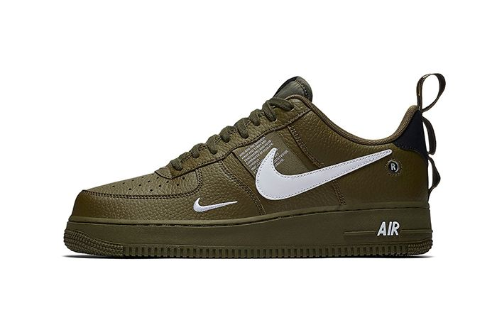 Nike Air Force 1 Low Utility Olive Canvas 1