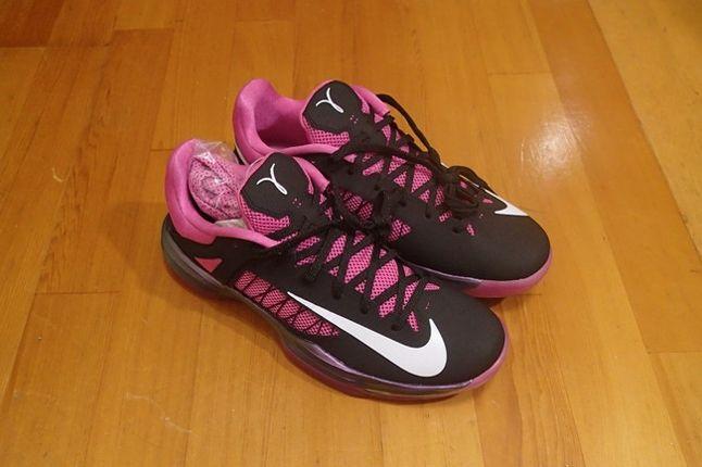 Nike Pink Hyperdunk Low Kay Yow Birds Eye 11