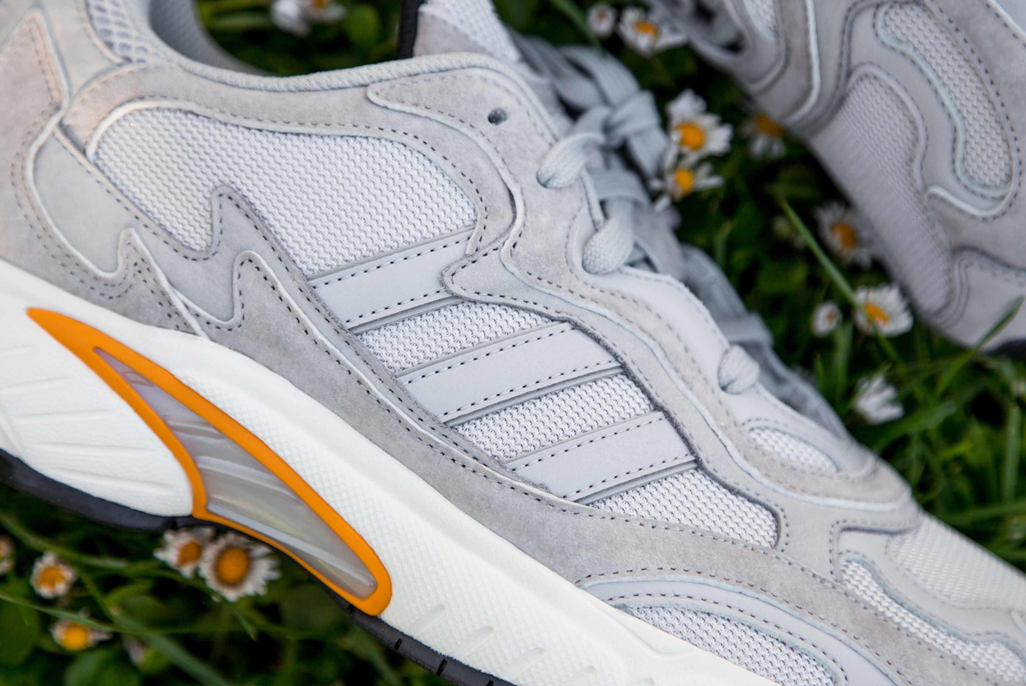 Adidas Originals Temper Run Grey Closer Look 5 Sneaker Freaker