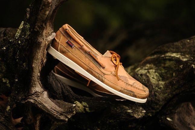 Sebago Boat Tan Leather Hero Profile 1