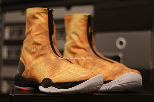 Jordan Xx8 Yellow Camo Pair Angle 1