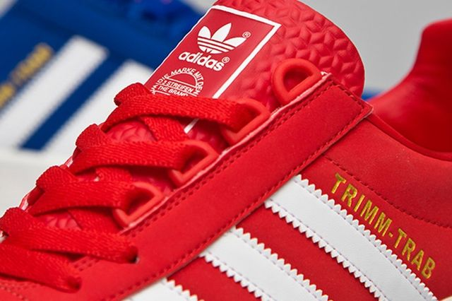 Adidas Trimm Tab Red And Blue 3