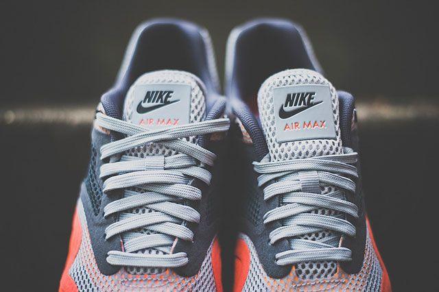 Nike Air Max 1 Breathe Team Orange Tongue