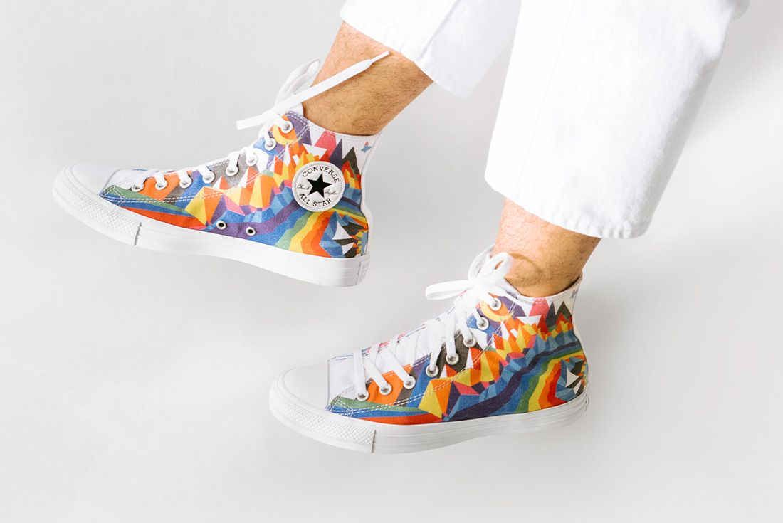 converse pride 2021 collection official shots