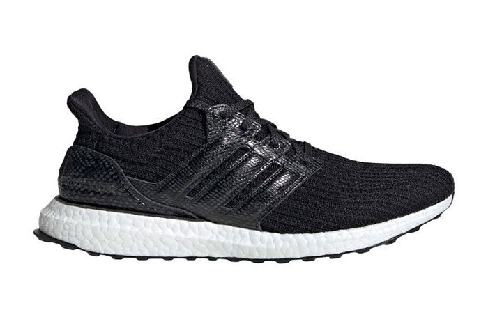 Adidas Ultra Boost Black Snakeskin Fx8931 Lateral Side Shot