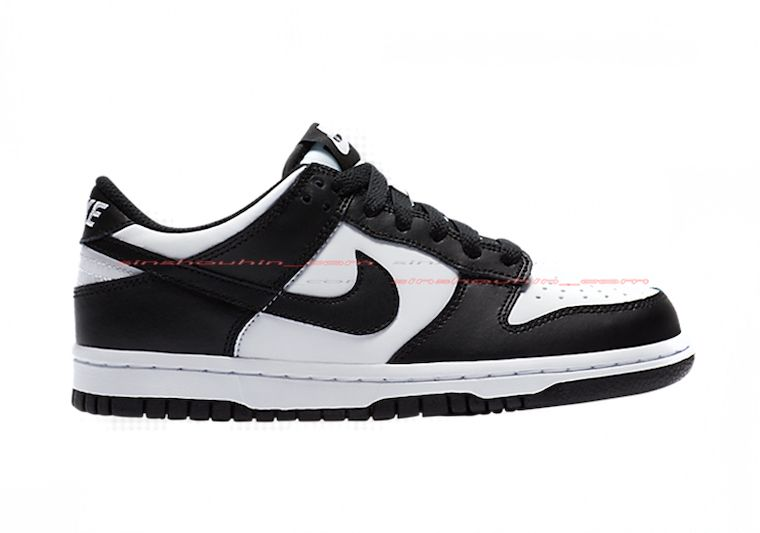 Nike Dunk Low GS Black White Right