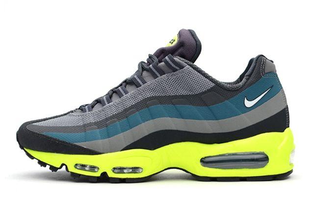 Nike Air Max 95 Medium Base Grey Volt Thumb