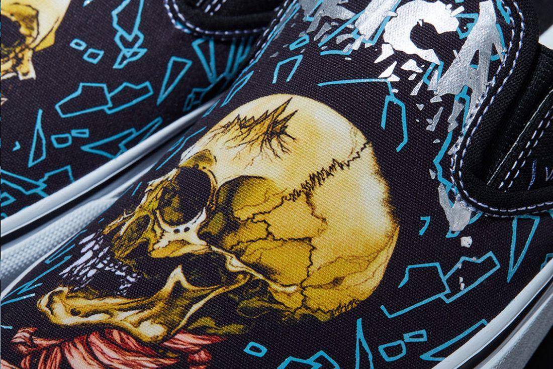Metallica x Vans Sk8-Hi and Slip-On official