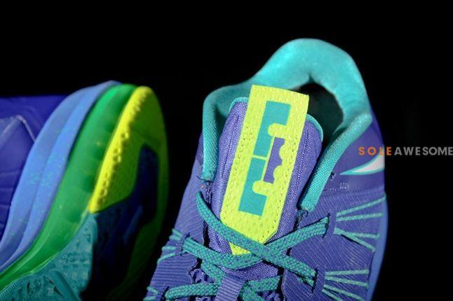 Nike Lebron X Low Sprite Tongue Sole Detail 1