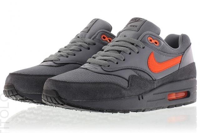 Nike Air Max 1 Fb Grey Orange 1