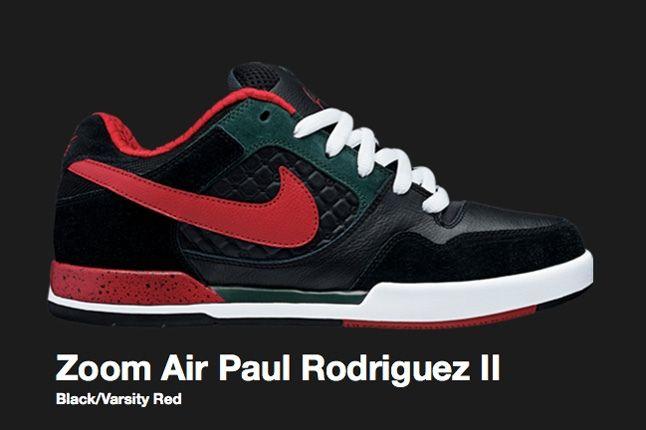 Nike Sb Zoom Air Paul Rodriguez Ii Varsity Red 2008 1