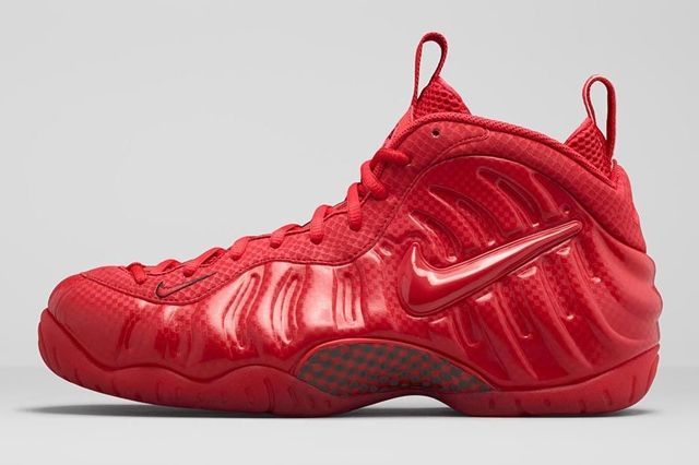 Nike Air Foamposite Pro Gym Red Bumper 5