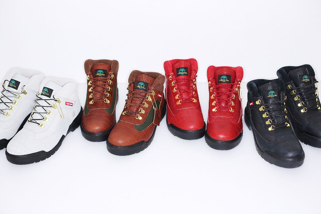 Supreme X Timberland 2016 Fall Winter Field Boot Collection2