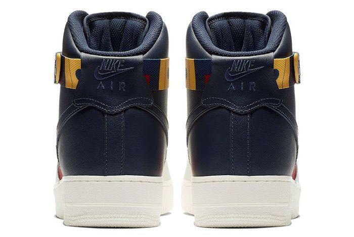 Nike Air Force 1 High Nautical Redux Ar5395 100 Heels Sneaker Freaker