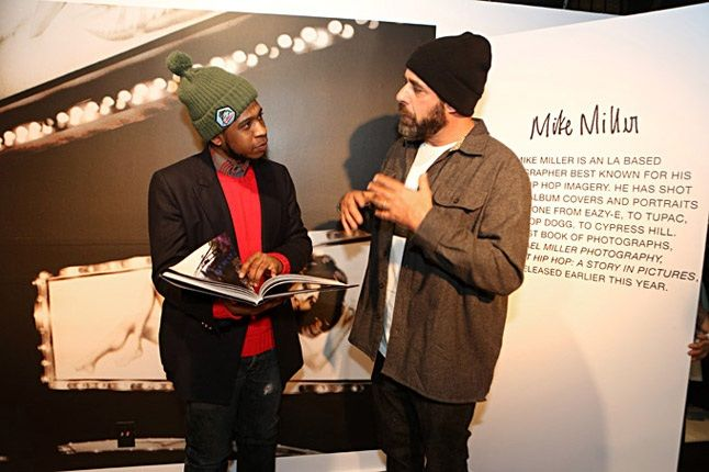 Mike Miller Supra Nyc Exhibition Mike Gesticulating 1