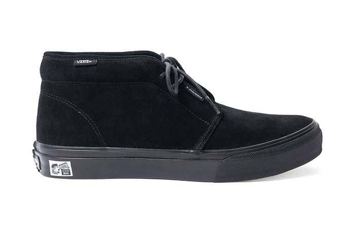 N Hoolywood Vans Chukka Boot Black Release Date Lateral