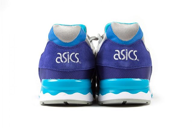 Asics Gel Lyte V Royal Blue Grey Teal 3