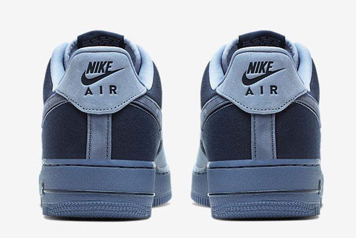 Nike Air Force 1 Low Ash Slate 3 Heel