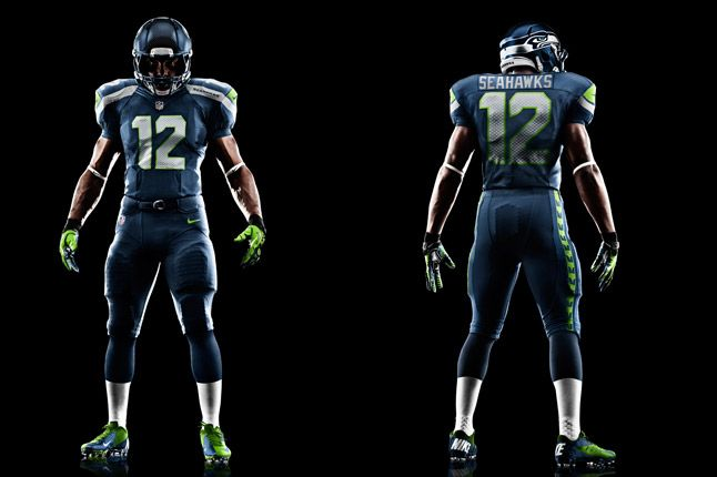 Seattle Seahawks Uniform 1