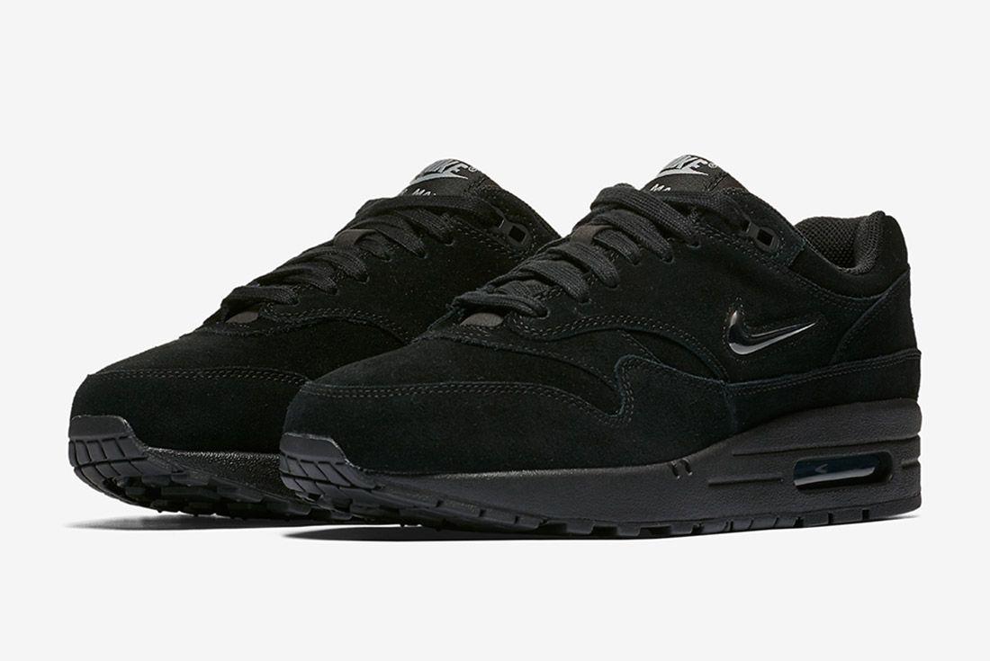 Triple Black Nike Air Max 1 Jewel Sneaker Freaker 2