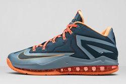 Nike Lebron 11 Low Magnet Grey Thumb