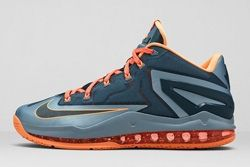 Nike Lebron 11 Low Magnet Grey Thumb