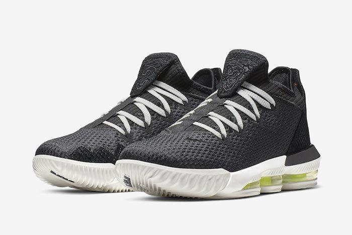 Nike Lebron 16 Low Black Python Pair