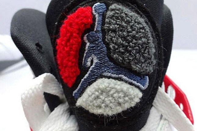 Air Jordan 8 Bugs Bunny Retro April 2013 Tongue Detail 1