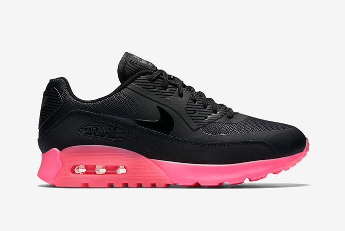 Nike Air Max 90 Ultra Digital Pink Black 2