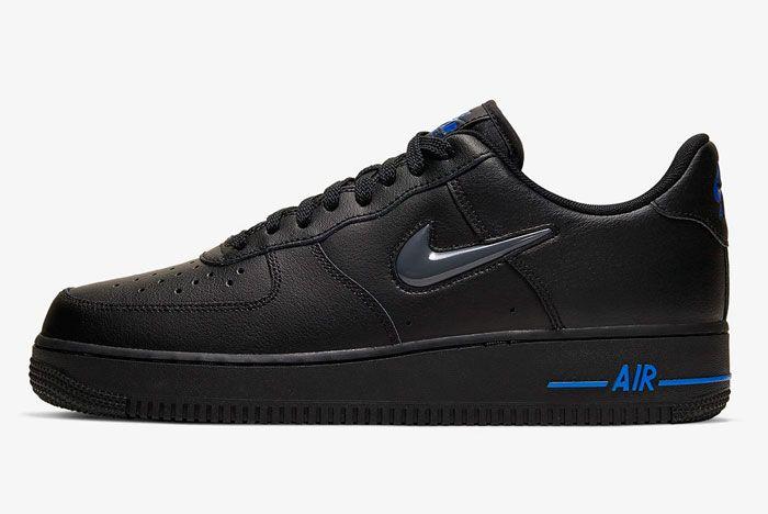 Nike Air Force 1 Low Jewel Black Left