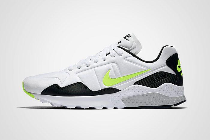 Nike Air Zoom Pegasus 92 White Black Volt Thumb