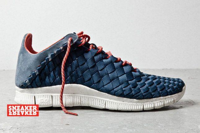 Nike Free Inneva Woven Armory Navy 1 2