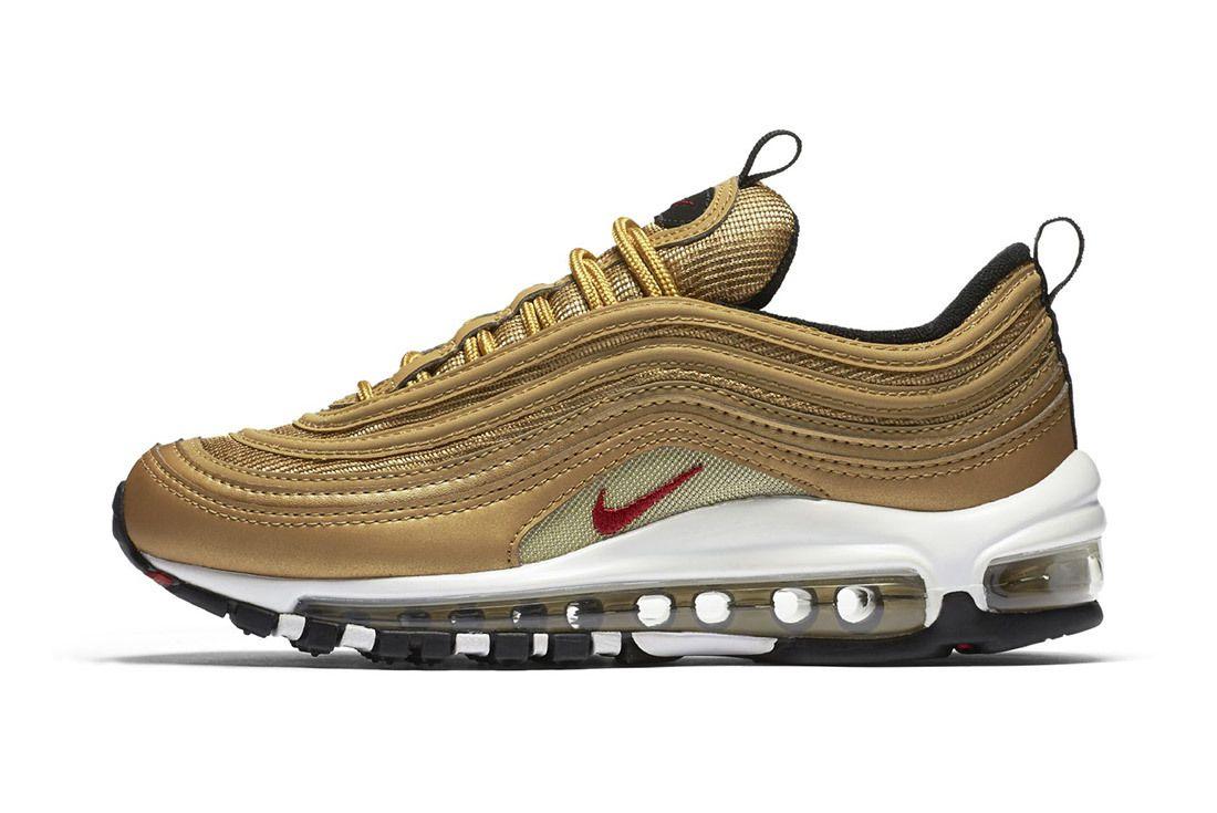 Nike Air Max 97 Metallic Gold 7