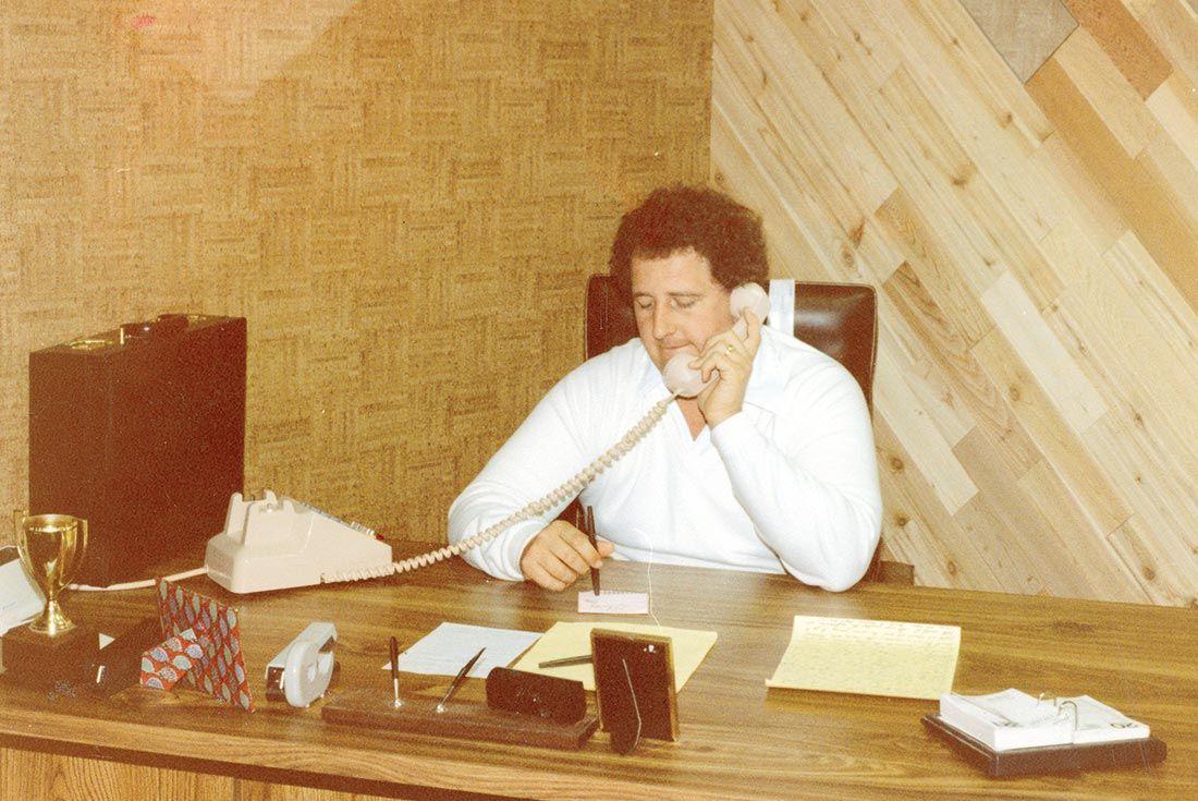 Vans History Paul Van Doren 1974