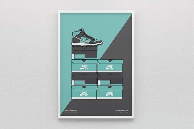 New Range Sneaker Art By Kick Posters 5