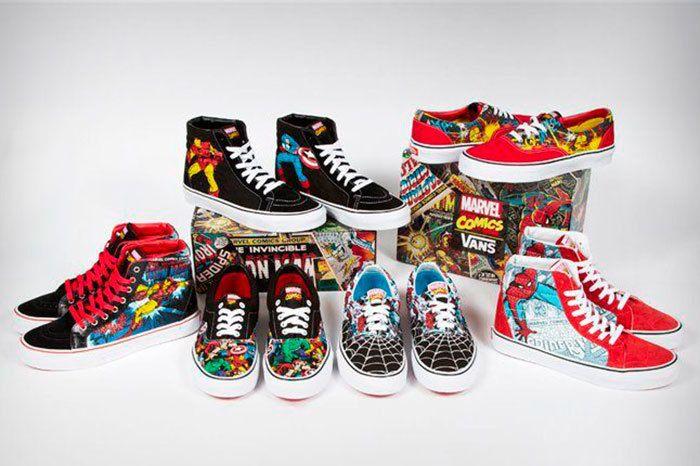 Vans Marvel Avengers Collection Sneaker Freaker 1