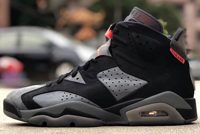 Air Jordan 6 Psg Paris Release Date Side