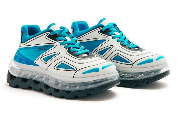Shoe 53045 Air Bump Ice