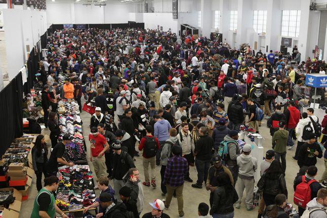 Sneaker Con New York 2012 Crowd 1