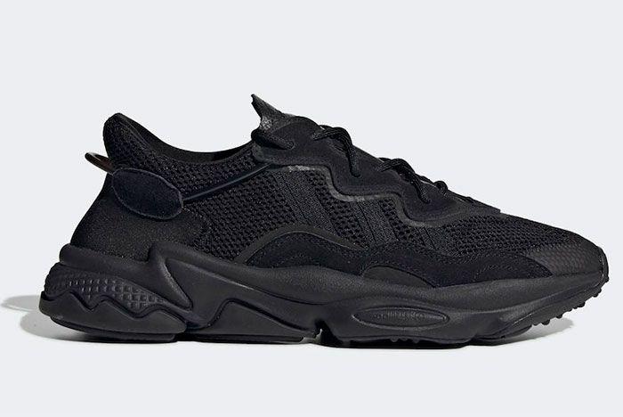 Adidas Ozweego Triple Black Right