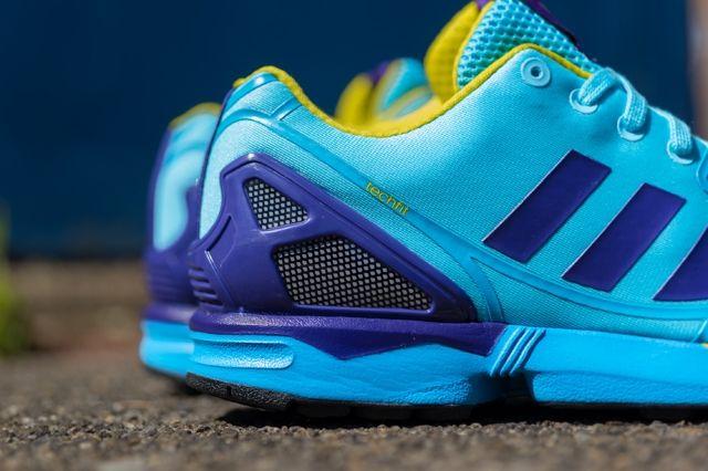 Adidas Originals Zx Flux Techfit Og Aqua 4