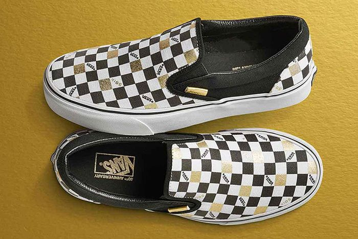 Vans 50 Th Anniversary Gold Collection5