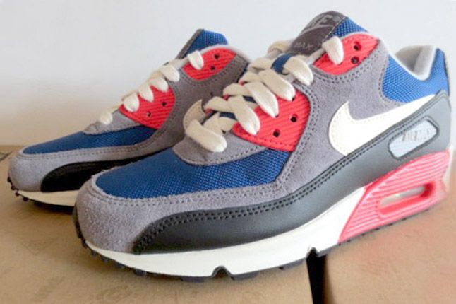 Nike Air Max 90 Dark Royalblue Charcoal 2012 Profile 2