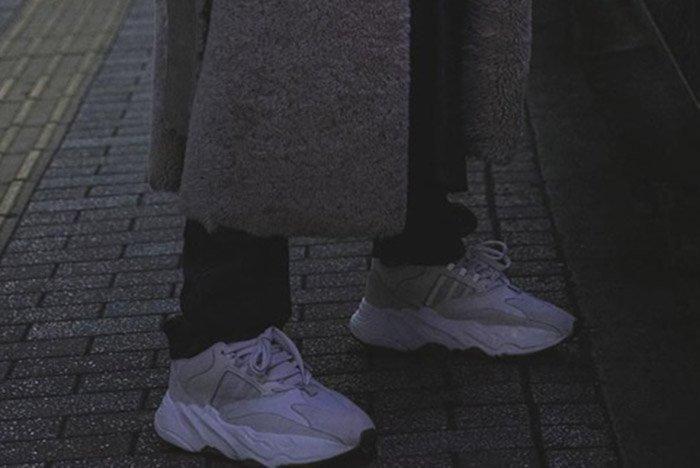 Adidas Yeezy0 Boost Wave Runner 700 Triple White 1