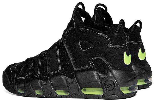 Nike More Uptempo Black 4 1