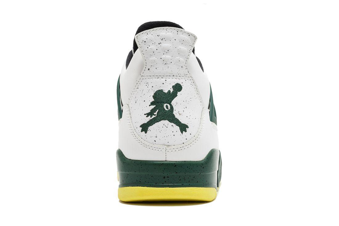 Oregon Duckman Heel Air Jordan 4 Best Greatest Ever All Time Feature