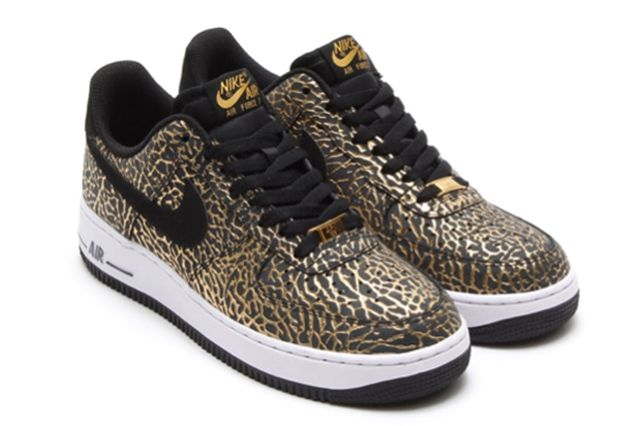 Nike Air Force 1 Low Gold Elephant 2
