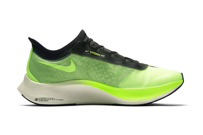 Nike Zoom Fly 3 Electric Green At8240 300 Release Date Medial