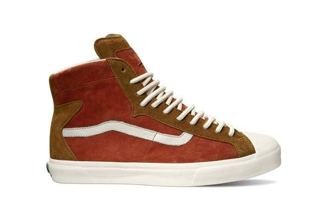 Vault By Vans Th Revere Hi Lx Brown Spring 2013 1